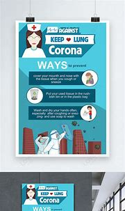 Ways to prevent coronavirus poster template image_picture ...