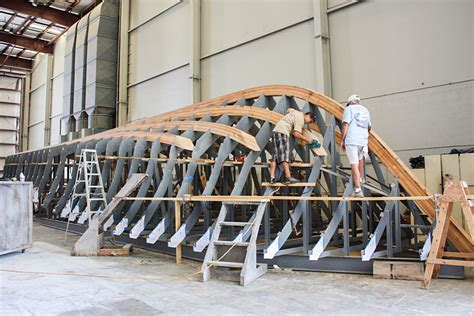 Boat Hull Efficiency by American Custom Yachts Wooden Hulls Built For Speed