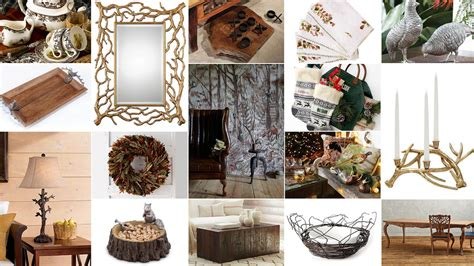 Bring It Home Woodlandthemed Home Décor  Cowboys and