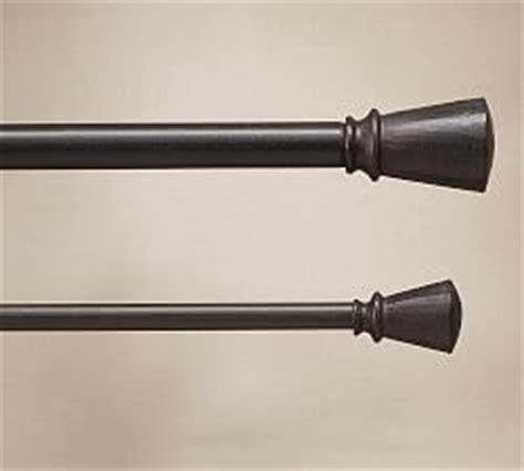 Cast Iron Drape Rod - pb standard holdback set of 2 antique bronze finish