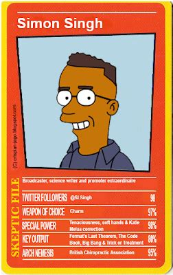 reason stick simpsons top trumps skeptics edition