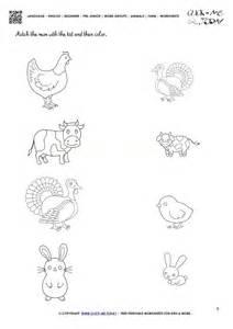 farm animal worksheets  answers skgoldco