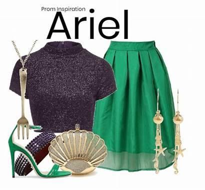Mermaid Shoplook Ariel Disney Outfits Inspired Io