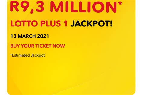 Draw number 64 of 2021. SA Lotto and Lotto Plus Results: Saturday, 13 March 2021 ...