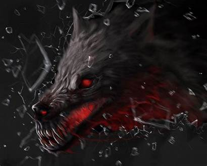 Wolf Demon Horror Fantasy Background 1080 Hell