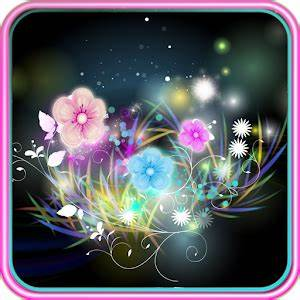 App Neon Flower Live Wallpaper apk for kindle fire