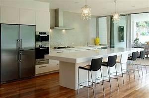 Eclairage Plafond Cuisine : 15 exemples d 39 clairage cuisine pratique et joli ~ Edinachiropracticcenter.com Idées de Décoration