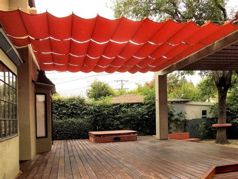 sail cloth patio covers home design ideas