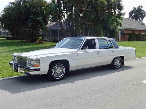 Cadillac Sedan by 1984 Cadillac Sedan For Sale Classiccars
