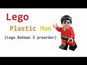 Lego DC Plastic Man Minifigure Reveal! (preorder Lego ...