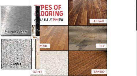 types  flooring youtube