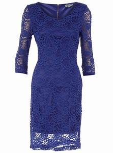 **Alice & You Royal blue lace dress - Dorothy Perkins ...