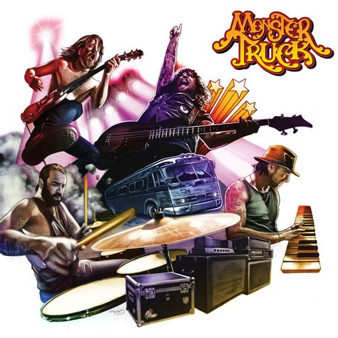 zombie monster truck videos monster truck return with new album true rockers new