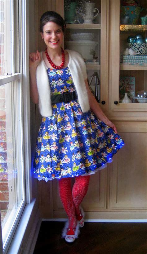 christmas dress teacher tacky wore skirt shoes cassie stephens diy lady sweater