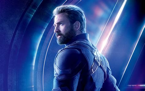 Chris Evans As Captain America Avengers Infinity War 4k 8k Wallpapers
