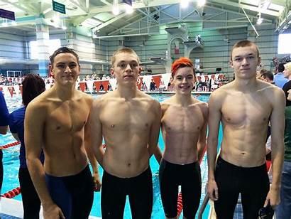 Boys Diving Swimming Team 1126 Ohio Evan