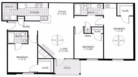 bedroom house plans open floor plan youtube