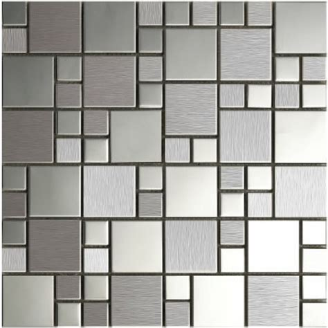 metallic tiles kitchen free shipping metal mosaic stainless steel tile kitchen 4104
