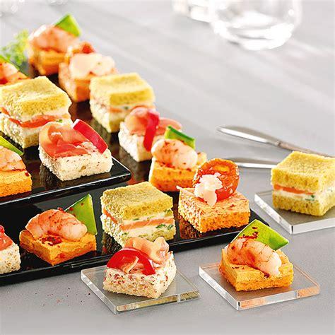 canapé au saumon conseils pour réceptions les meilleures mignardises pour