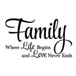Teal And Orange Living Room Decor by Family Where Life Begins And Love Never Ends Vinyl Wall