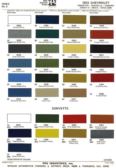 gm paint color code gm interior paint color codes home painting