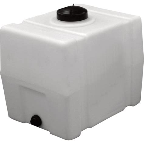 Wasserbecken Kunststoff Eckig by Romotech Poly Storage Tank Square 50 Gallon Capacity