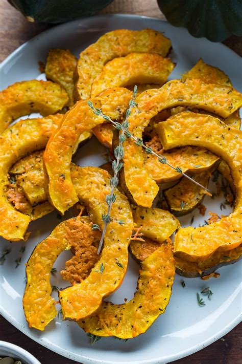 acorn squash recipe roasted parmesan vegetable easy covered closetcooking recipes fryer air