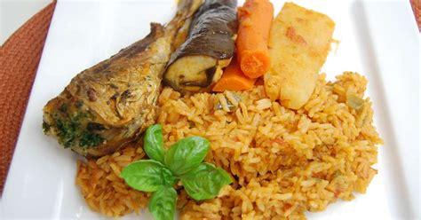 riz cuisiné riz au gras thieboudienne afrique de l 39 ouest recette