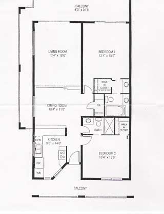 2 bedroom condo floor plans pelican cove beach condos floor plan