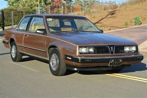 1985 Pontiac 6000  Information And Photos Momentcar