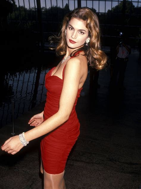 cindy crawford revlons unforgettable women contest red