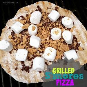 Grilled S'Mizza (Grilled S'mores Pizza) | Confessions of a ...