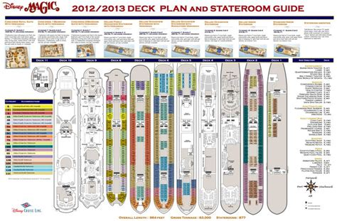 printable deck plans disney magic ship layout disney cruise