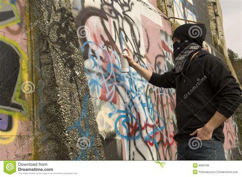 Graffiti Vandal : Graffiti Vandal Royalty Free Stock Images