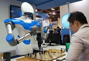 Chess-playing robot steals the show at Taiwan tech fair ...