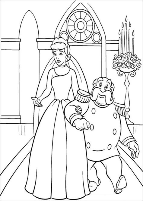 coloriage le roi  cendrillon dessin gratuit  imprimer