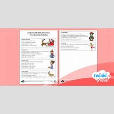 * New * Twinkl Move Pe  Reception Fundamental Skills Christmas The