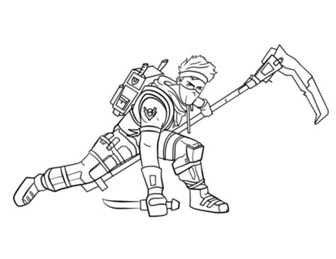 fortnite ninja coloring page  printable coloring pages