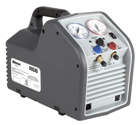 rg portable refrigerant recovery machine robinair