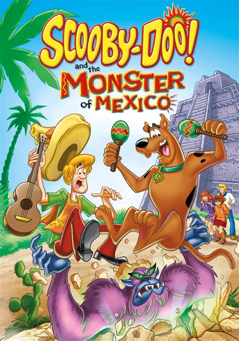 scooby doo   monster  mexico  fanart