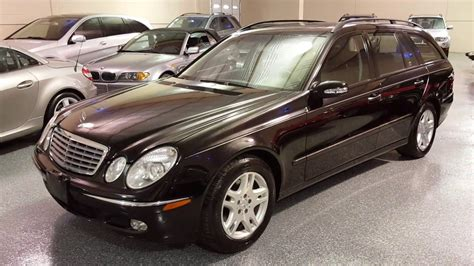This is a 2004 mercedes benz e320 4matic wagon with 163614 miles. 2004 Mercedes-Benz E320 Wagon SOLD (#2549) Plymouth, MI - YouTube