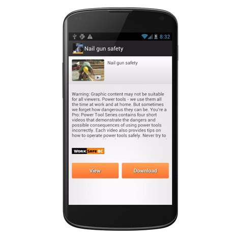 Worksafebc Safety Android App