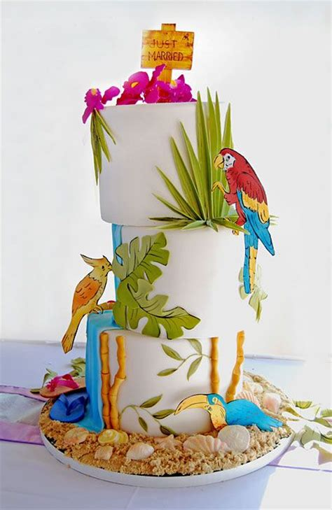 southern blue celebrations tropoicalluau cakes