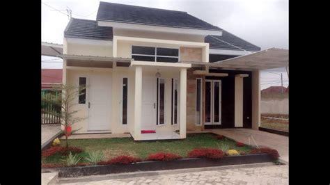 lihat model desain rumah minimalis type 45 1 lantai elegan