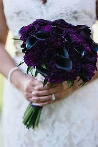 Wedding Wednesday    Plum  U0026 Burgundy Flower Inspiration