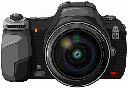 Camera Transparent Clipart Clip Photographer Dslr Library