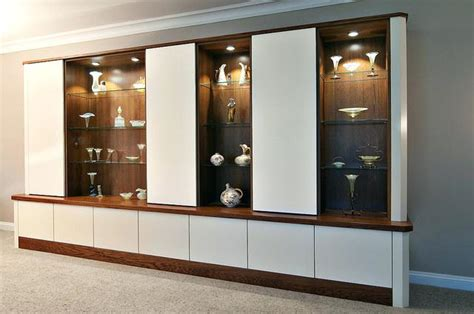 glass cabinets for living room cabinet living room conquest bespoke cabinets wood and 6807