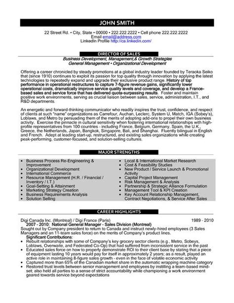 Top Resume Sles by 59 Best Best Sales Resume Templates Sles Images On