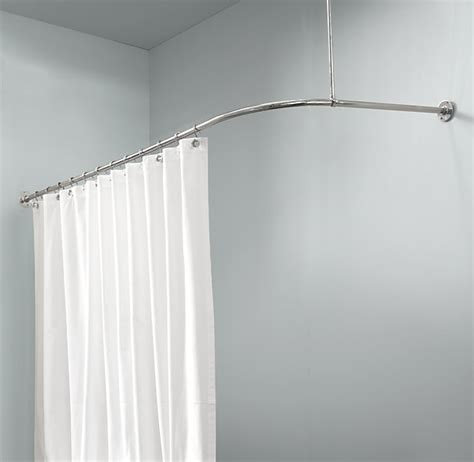 rest hardware shower curtain rack for tub that bolts into