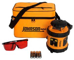johnson self leveling rotary laser level the home depot